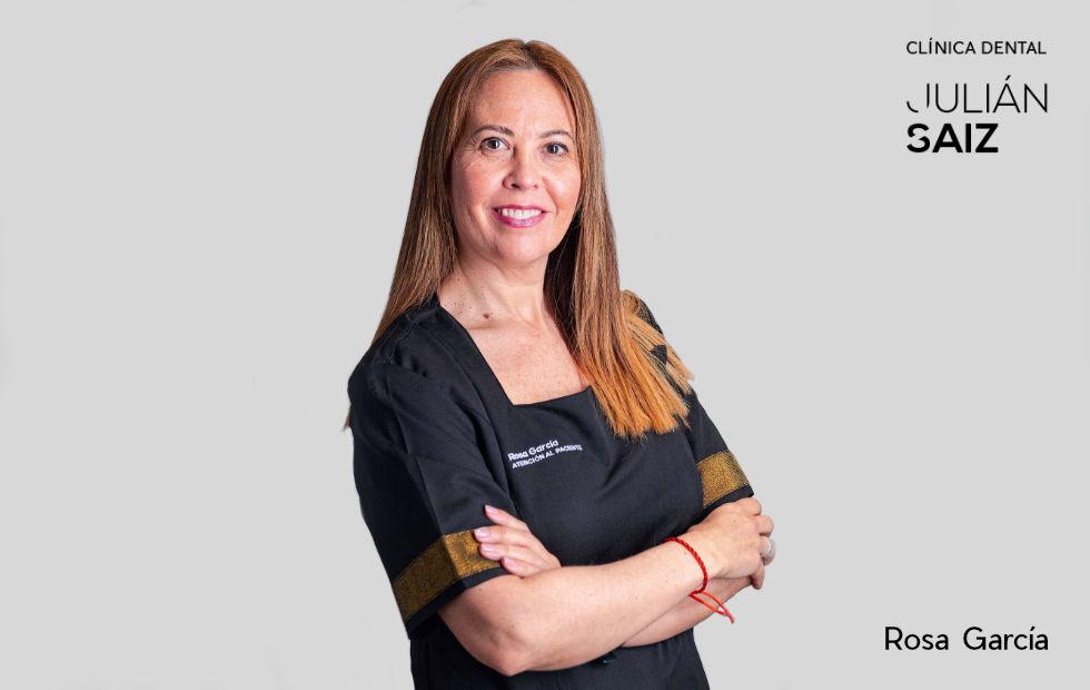 Rosa García | Atención al paciente | Clínica Dental Julián Saiz