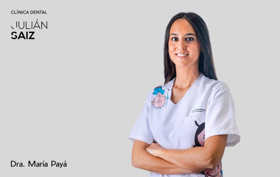 Doctora María Payá | Odontopediatra | Clínica Dental Julián Saiz